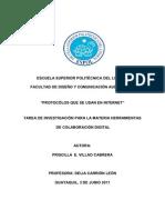 PROTOCÓLOS DE INTERNET