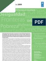 PUND - Informe Sobre Desarrollo Humano 2009