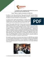 Red Nacional de Mujeres Autoridades Locales y Regionales del Perú-RENAMA renovó su junta directiva para el período 2011-2013