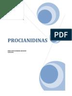 Las procianidinas son una mezcla de moléculas antioxidantes
