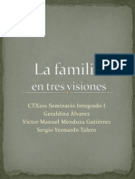 La Familia en Tres Visiones Seminario Integrado