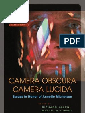 Camera Obscura, Camera Lucida   Minimalism   Reality