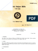 US Marine Corps FMFRP 0-11A - M40A1 Sniper Rifle - April 1989
