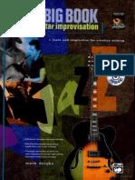 The Big Book of Jazz Guitar Improvisation