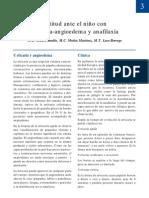ACTITUD ANTE EL NIÑO CON URTICARIA-ANGIOEDEMA Y ANAFILAXIA