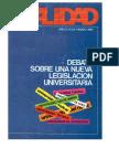 Revista Realidad marzo 1981