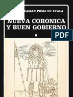 CORÓNICA Y BUEN GOBIERNO II de Felipe Guamán Poma de Ayala<