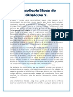 Características de Windows 7