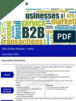 B2B Online Market in India 2010-Sample for Lamborghini