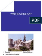 What is Gothic Art