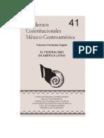 El Federalismo en América Latina - Francisco Fernández Segado