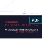 Shariah - The Threat to America (Team B Report)
