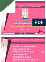 Leer y Escribir en La Escuela Delia Lerner