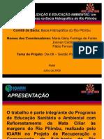 Ações de Mobilização e Educação Ambiental - Bacia do Rio Pitimbu (1)