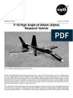 NASA Facts F-18 High Angle-Of-Attack (Alpha) Research Vehicle
