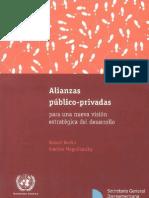 Alianzas Publico Privadas Para Una Nueva Vision Estrategica Del Desarrollo