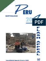 Peru Flash Appeal 2007