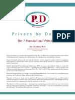 PbD Principles
