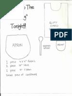 make dinner card