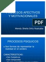 Procesos Afectivos y Motivacionales