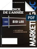 MarketingQC – Février/Mars 2011