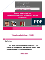 Vitamin a Deficiency... Dr Castro