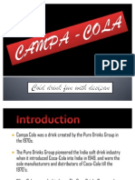 Campa Cola Ppt