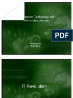 Information Technology and Networking Concepts