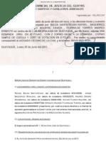 Demanda en Contra de la Censura Previa en el Salón de Julio - Guayaquil