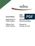 Coroner's Annual Report 2008-1