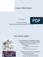 User-Centric Work Environment Design Presentation PDF 15052010