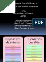 Diapositivas entrada/salidad