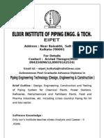 Piping Engg[1][1]. Syllabus