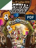 Programme 2011 du Festival du jeu de Parthenay