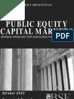 Public Equity Capital