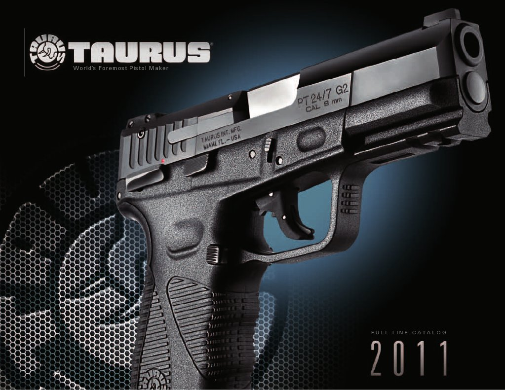 2011 Taurus Catalog Trigger Firearms Revolver Millennium 9mm Schematics