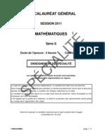S Mathématiques spécialité