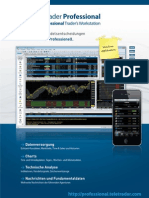 TeleTrader Professional Flyer (Deutsch)