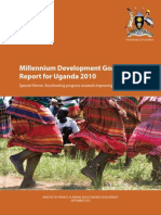 190 Uganda MDG Report 2010 Final