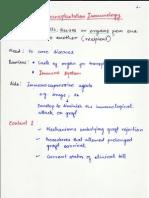 Transpalntation Immunology