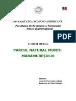 Turism Rural - Parcul Natural Muntii Maramuresului