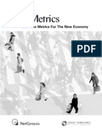E-Metrics (Business Metrics for the New Economy)