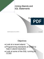 Examining SQL