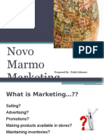Novo Marmo Marketing Management