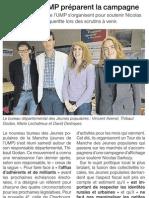Article Ouest France du 20/06/2011