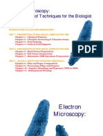 Manual of Electron Microscope