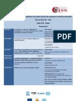 programma seminario conclusivo progetto Diritti dei migranti e alterità culturali