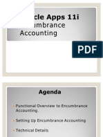 OracleApps11i Encumbrance Accounting
