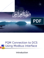 PQM Interface Using Modbus