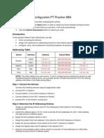 57707067 ENetwork Basic Configuration PT Practice SBA